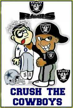 Raiders Crush The Cowboys