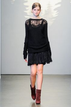 Tess Giberson | Fall 2014 Ready-to-Wear Collection | Style.com #NYFW