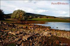 La Costana. Lo que queda debajo del Pantano del Ebro.
