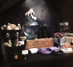Una mesa de Halloween muuuuy tenebroso! / A very spooky Halloween table!
