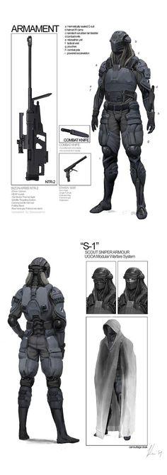 Cyberpunk - soldier