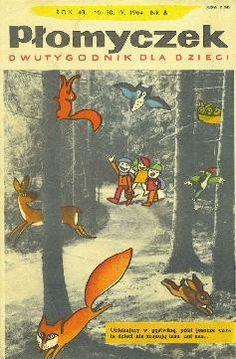 Poland Culture, Nostalgia, Andersen's Fairy Tales, Visit Poland, Old Advertisements, Magazines For Kids, Vintage Children's Books, Children's Book Illustration, Illustrations