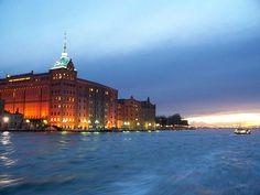 Molini Stucky - Venice sunset by stepaganini, via Flickr