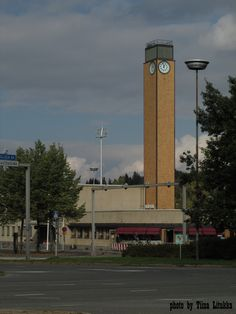the bus station built 1939 Lahti, FINLAND Bus Station, Old Ads, East Sussex, Terriers, Finland, Countryside, Nostalgia, Building, Places
