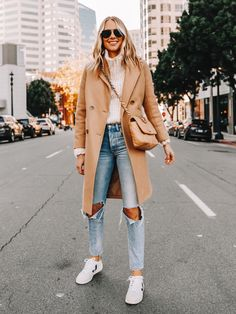 Today I'm sharing some of my favorite looks from Most of them are fall outfits, casual outfits, Anine Bing pieces, and of course a few camel coats. Trendy Fall Outfits, Winter Fashion Outfits, Fall Winter Outfits, Autumn Winter Fashion, Casual Outfits, Classy Outfits For Women, Sneakers Fashion Outfits, Casual Clothes, Work Outfits