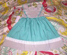 NOLA Smocked Sweet Mint Size 4