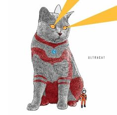 Famous Pop Culture Icons Re-Imagined As Cats - Neatorama