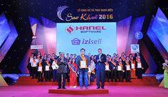 Giải pháp iZiSell nhận giải thưởng Sao Khuê 2016