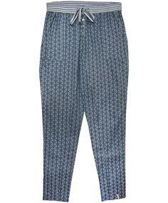 Plus Fine Hose im Pyjamastil Pants DAR nightplue