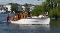 Association of Dunkirk Little Ships (official) shared Graham Knight's photo. · The Commodore on his way to Ramsgate.