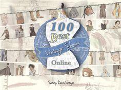 The 100 Best Vintage Shops Online by SammyDavisVintage on Etsy, $5.99