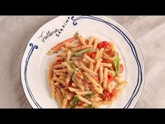 Pennette with Tuna and Tomatoes Recipe - Laura in the Kitchen - Internet Cooking Show Starring Laura Vitale