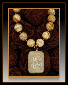 Jasper Collection - Necklace - $52, Pendant - $24 - Beautiful Year Round with all colors!