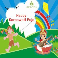 Kislaya Play School Montessori and Special Needs School Wishes you all a Happy Saraswati Puja.