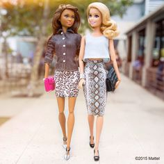 Friday is for friends, I'm lucky to have so many that inspire me!  #barbie #barbiestyle