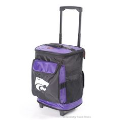 Logo Inc Kansas State Wildcats Rolling Cooler