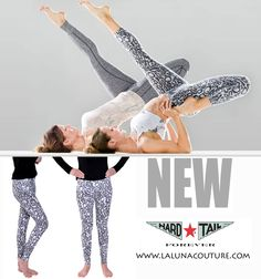 New! Hard Tail Back Zip Roll Down Leggings $69!  Roll down print leggings with an ankle zip flare. Perfect if you want to add a cool twist to your yoga leggings! Order yours now!  https://www.lalunacouture.com/hard-tail-back-zip-roll-down-leggings-black-white-print.html  #hardtailforever #hardtailleggings #yoga #fitforlife