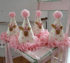 adorable party hats