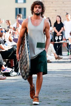 Marlon Teixeira //Ports 1961 Spring/Summer 2016  // menswear collection // Pitti Uomo Florence, Italy