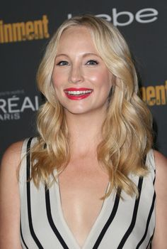 Candice Accola at the 2013 Entertainment Weekly Pre-Emmy Party last September 20
