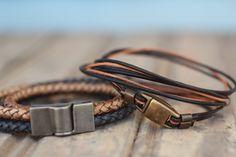 Bracelets, Leather, Men, Jewelry, Fashion, Men's Wristbands, Moda, Jewlery, Bijoux