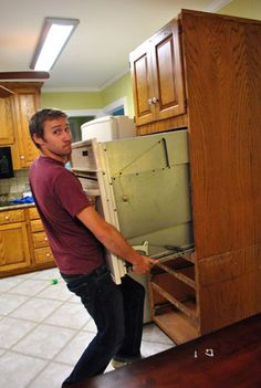 DIY Pantry | Home Remodel | Oven cabinet, Kitchen Cabinets ...