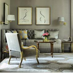 #diningroom #decor #design #interior #instagram #interiors #instadaily #inspiration #white #gray #banquette#areacarpet#classic #Padgram