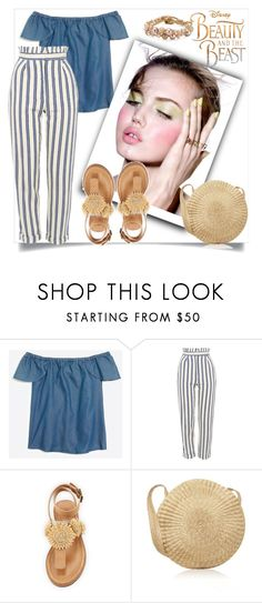 """Untitled #56"" by miki-383 ❤ liked on Polyvore featuring J.Crew, Topshop, Bettye, Laredo and Chan Luu"