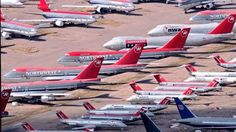 Retired Northwest Airlines Aircraft
