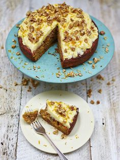 Gluten-free carrot cake - make it lactose free with lactose free milk and lactose free cream cheese - tested and it's delish!!!!