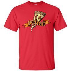 Pizza forever Cotton T-Shirt