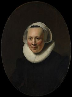 Portrait of a Woman - Rembrandt