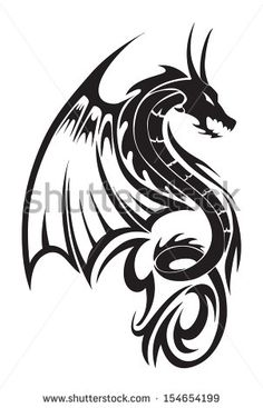 Dragon Tattoo Stock Photos, Images, & Pictures | Shutterstock