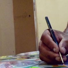 Boa madrugada  #detalhes #tecnorganics #detail #tecnorganico #keramik #madrugadaloka #ixlutx #canvas #sala #produção #artist #art #arte