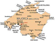 Majorca - locations ...