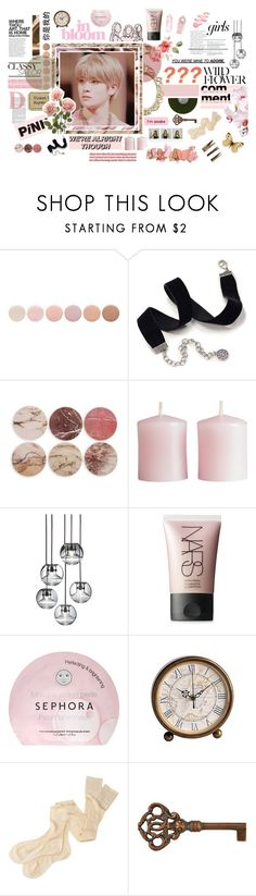 """⠀⠀ ♡ ╰  HE DIDN'T MEAN TO DO NO HARM"" by monochromatics ❤ liked on Polyvore featuring Deborah Lippmann, Sweet Romance, Sans Souci, &K, H&M, Tom Dixon, NARS Cosmetics, Polaroid, Sephora Collection and Pier 1 Imports"