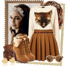 """""""Fox"""" by angelc on Polyvore"""
