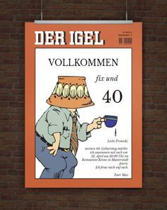 einladung 40. geburtstag (schwedisch) | ideas | pinterest, Einladungen