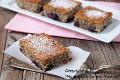Cherry poppy seed cake Colorado Denver Foodblog German recipes My Kitchen in the Rockies | A Denver, Colorado Food Blog
