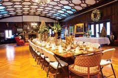 A grand Summit Avenue manse dons its holiday best. Summit Avenue Ballroom. Photo by TJ Turner/Sidecar.