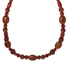 Carolyn Pollack Sterling Silver Multigemstone Red Necklace ** See this great product.