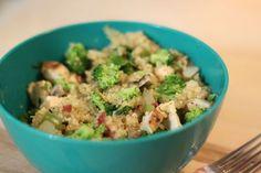 Easy Quinoa Chicken Bowl Recipe | Gluten Free Recipe