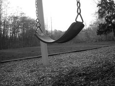 swinging for hours - remember how to pump your legs to go higher and faster?