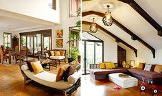Philippine-made pieces and antique finds add vintage charm to a modern house in the city