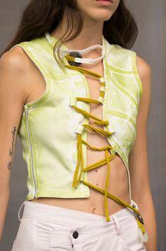 Ottolinger at Paris Fashion Week Spring 2019 - Details Runway Photos Source by AureoleHeadwear clothes Quirky Fashion, High Fashion, Fashion Show, Fashion Outfits, Fashion Fashion, Fashion Weeks, Stylish Outfits, Dope Outfits, Fashion Clothes