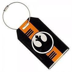 Star Wars Rogue One Rebel Alliance Logo Aluminum Luggage Tag