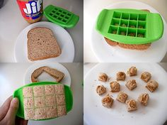 Sandwiches Go Toddler With FunBites