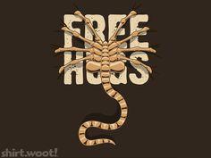 Free Hugs tee by David Benton