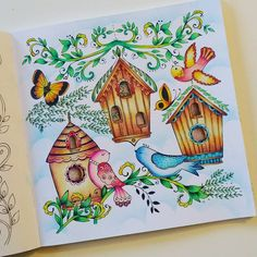 Love love love ! ❤❤❤ #coloriage #arttherapie #arttherapy #coloriageantistress #coloringbook #coloring #coloringforadults #prismacolor #prismacolorpremier #meinfrühlingsspaziergang #ritaberman
