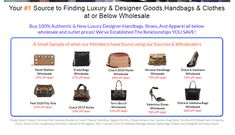 Wholesale Designer Handbags, Fendi, Dior, Luxury, Stuff To Buy, Dior Couture